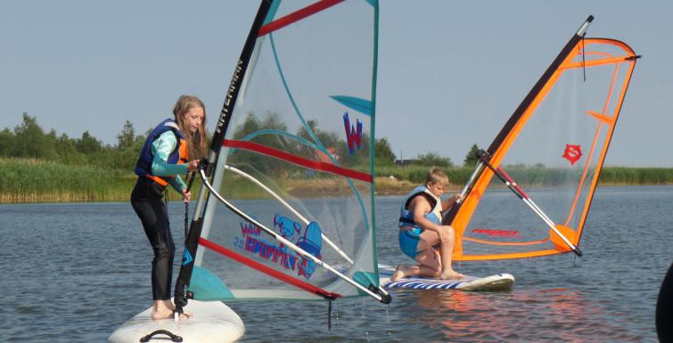Obozy windsurfingowe Dźwirzyno 2015